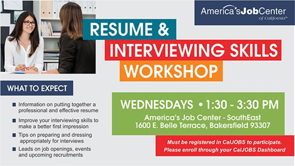 Resume and Interviewing Skills Workshop